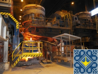 Metallurgical plant ArcelorMittal tour - casting plant