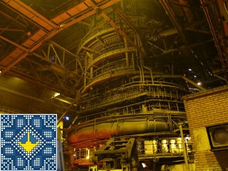 Metallurgical plant ArcelorMittal tour - open hearth furnace