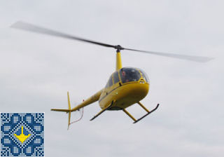 Kiev Helicopter Tour 2015 | Kiev sightseeing in a bird's eye view on helicopter Robinson R-44 in Kiev, Ukraine
