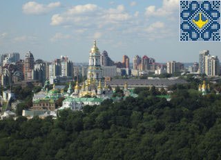 Kiev Helicopter Tour Pictures - Kiev Pechersk Lavra (Kiev Monastery of the Caves), Kiev