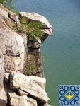 Zhitomir Sights - Rock Chatskiy Head