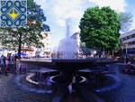 Ivano-Frankivsk Sights | Fountain on Viche Square