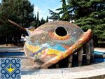 Alushta Sights | Miracle Monster Fish Whale Fountain