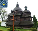 Zhovkva Sights | Wooden Church of Holy Trinity (1720) | UNESCO World Heritage