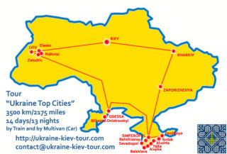 Ukraine Tour - Tour Ukraine Top Cities Itinerary, Sights, Attractions and Map